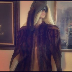 Julius Garfinkle & Co. Fur Cape